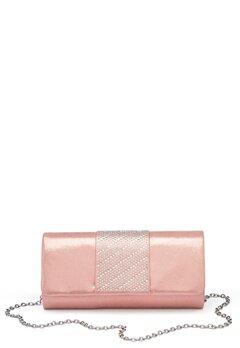Menbur Rhinestone Glitter Clutch Even Rose Bubbleroom.dk