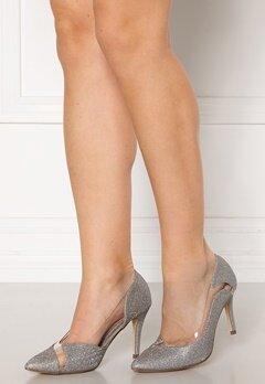 Menbur Sapato Glitter Sandals Silver Bubbleroom.dk