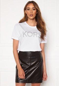 Michael Michael Kors Kors Graphic T-Shirt 100 White Bubbleroom.dk