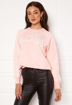 Michael Michael Kors Kors Logo Sweatshirt Powder Blush Bubbleroom.dk