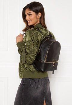 Michael Michael Kors Rhea Zip Backpack 001 Black Bubbleroom.dk