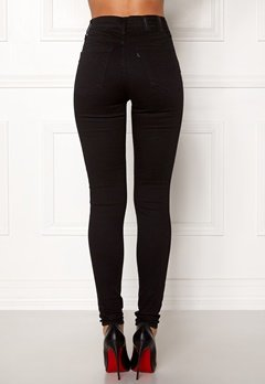 LEVI'S Milehigh Superskinny Jeans 0052 Black Galaxy Bubbleroom.dk