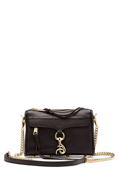 Rebecca Minkoff Mini Mac Bag Black Bubbleroom.dk