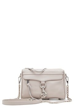 Rebecca Minkoff Mini Mac Leather Bag Putty Bubbleroom.dk
