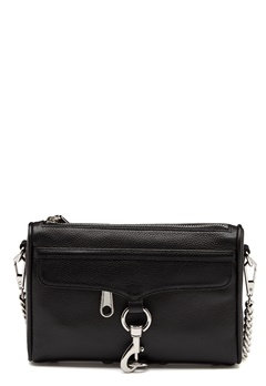 Rebecca Minkoff Mini Mac Pebble Strap Bag Black Bubbleroom.dk