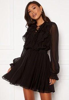 Miss Sixty DJ0320 Dress Black Bubbleroom.dk