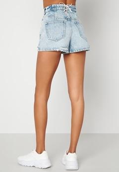 Miss Sixty JJ3340 Shorts Light Blue Bubbleroom.dk
