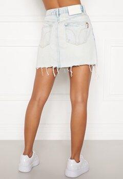 Miss Sixty KJ2520 Skirt Light Blue Bubbleroom.dk