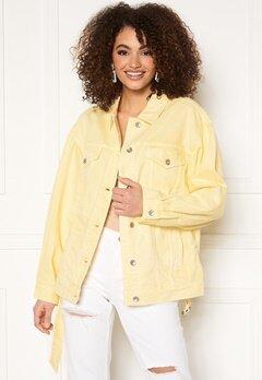 Miss Sixty WJ3750 Jacket Light Yellow Bubbleroom.dk