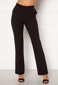 Moa Mattsson X Bubbleroom Flared suit trousers Black Bubbleroom.dk