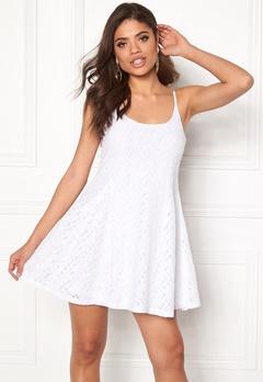 Model Behaviour Nova Dress White Bubbleroom.dk