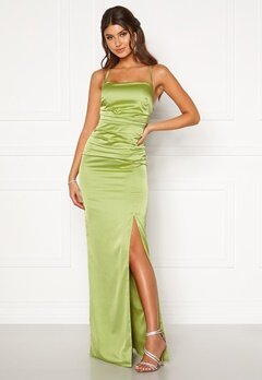 Moments New York Alda Strap Gown Green Bubbleroom.dk