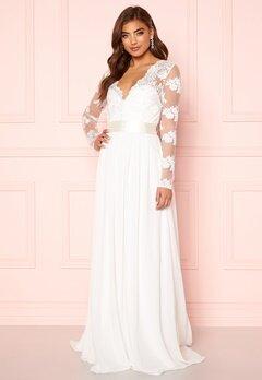 Moments New York Azalea Wedding Gown White Bubbleroom.dk