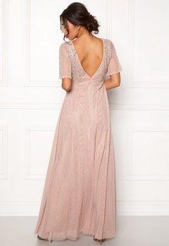 Moments New York Fleur Mesh Gown Light lilac Bubbleroom.dk