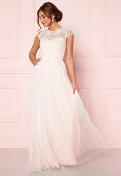 Moments New York Florentina Wedding Gown White Bubbleroom.dk