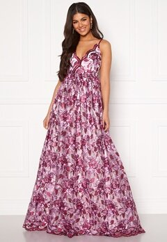 Moments New York Gardenia Floral Gown   Floral Bubbleroom.dk
