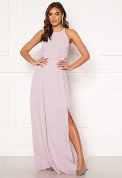 Moments New York Heather Crepe Gown Pink Bubbleroom.dk