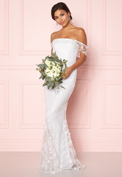 Moments New York Petunia Wedding Gown White Bubbleroom.dk