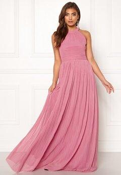 Moments New York Linnea Pleated Gown Dusty pink Bubbleroom.dk