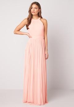 Moments New York Linnea Pleated Gown Light pink bubbleroom.dk