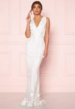 Moments New York Oleana Wedding Gown White Bubbleroom.dk
