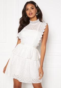 Moments New York Olivia Crochet Dress White Bubbleroom.dk