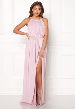 Moments New York Rose Draped Gown Dusty lilac Bubbleroom.dk