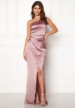 Moments New York Rosemary Satin Gown  Bubbleroom.dk