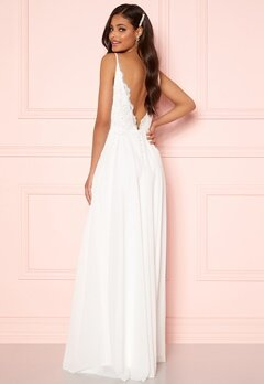 Moments New York Vanessa Wedding Gown White Bubbleroom.dk