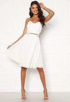 Moments New York Zaria Short Skirt  White Bubbleroom.dk