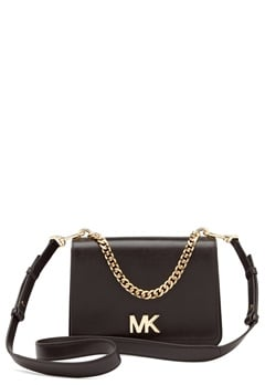 Michael Michael Kors Mott Chain Shoulder Bag Black Bubbleroom.dk