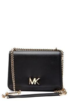 Michael Michael Kors Mott LG Chain Shoulder 001 Black Bubbleroom.dk