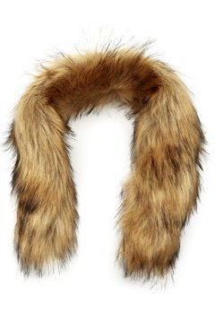 Mountain Works Faux Fur Trim 200 Brown Bubbleroom.dk