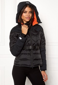 Mountain Works Foxy Hybrid Down Jacket 001 Black Bubbleroom.dk