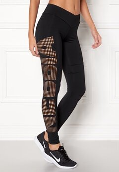 NEBBIA Supplex Laser Tights Svart Bubbleroom.dk