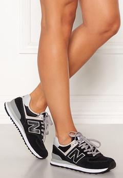 New Balance WL574 Sneakers Black/White Bubbleroom.dk