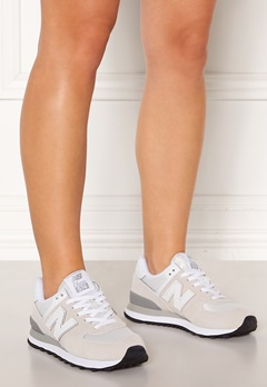 New Balance WL574 Sneakers White/White Bubbleroom.dk