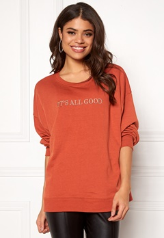 New Look All Good Gold Sportswear Burnt Orange Bubbleroom.dk
