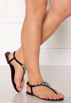 New Look Embellished Toe Sandal Black Bubbleroom.dk