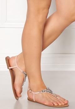 New Look Embellished Toe Sandal Pink Bubbleroom.dk