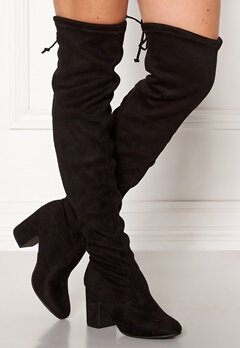 New Look Erica High Leg Boots Black Bubbleroom.dk