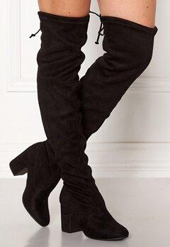 New Look Erica High Leg Boots Black Bubbleroom.dk