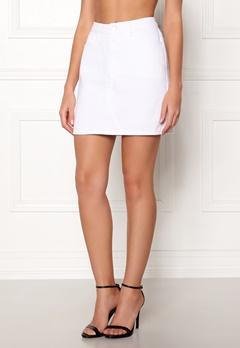 New Look Eva Skirt White Bubbleroom.dk