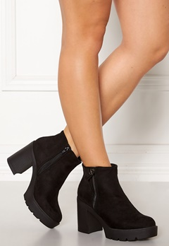 New Look High Chunky Boots Black Bubbleroom.dk