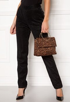 New Look Leopard Matilda Metal Bag Brown Pattern Bubbleroom.dk