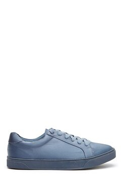 New Look Matin Satin Lace Up Blue Bubbleroom.dk