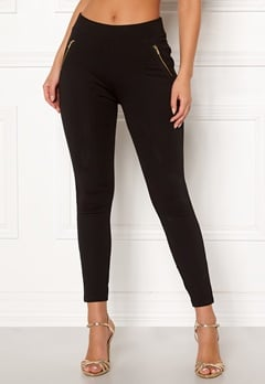 New Look New Ponte Zip Leggings 1 Bubbleroom.dk