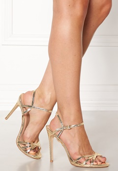 New Look Scope PU Strappy Sandal Gold Bubbleroom.dk