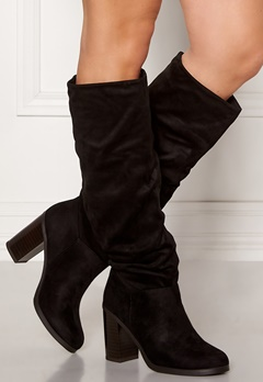 New Look Slouch High Leg Boots Black Bubbleroom.dk