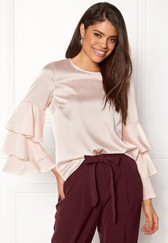 New Look Triple sleeve Blouse Shell Pink Bubbleroom.dk